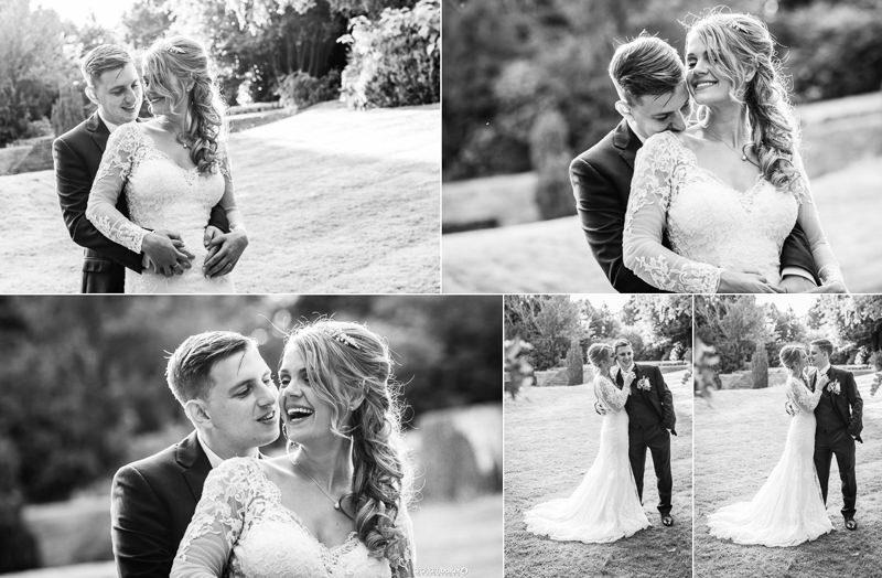 Natural Wedding Couple Portrait photographer - Graham Baker Photography