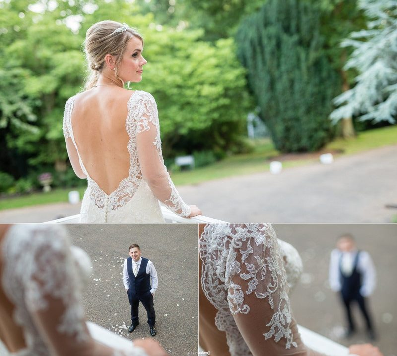 Beautiful bridal portraiture by London wedding photographer - Graham Baker Photography