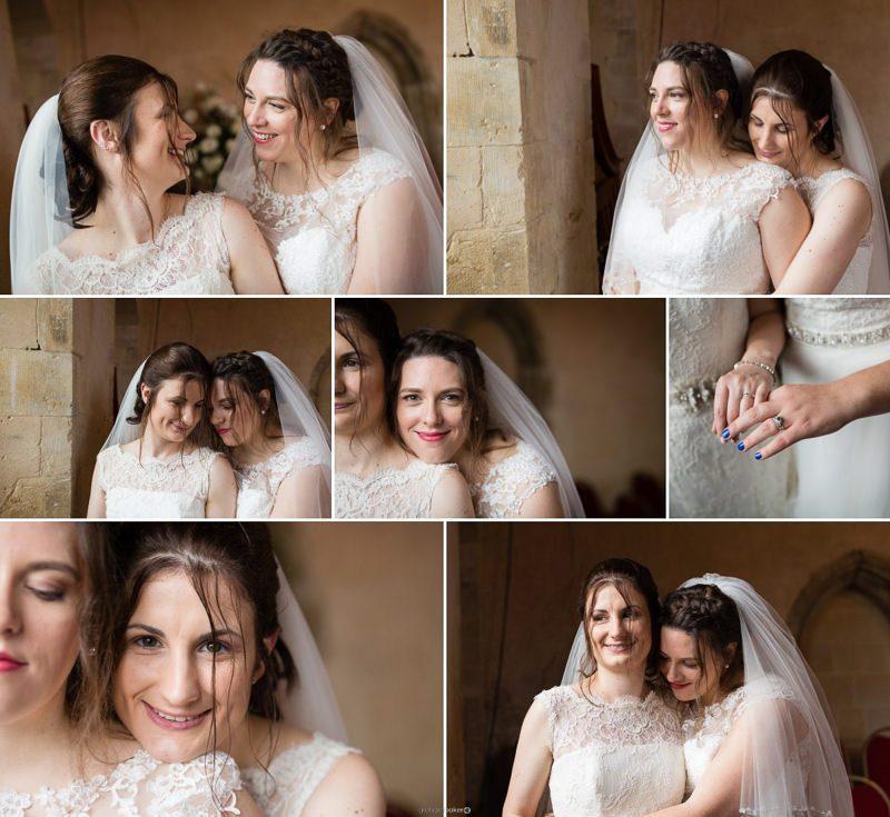 Same Sex Wedding LGBT Couple Portraits - St Augustines Kent