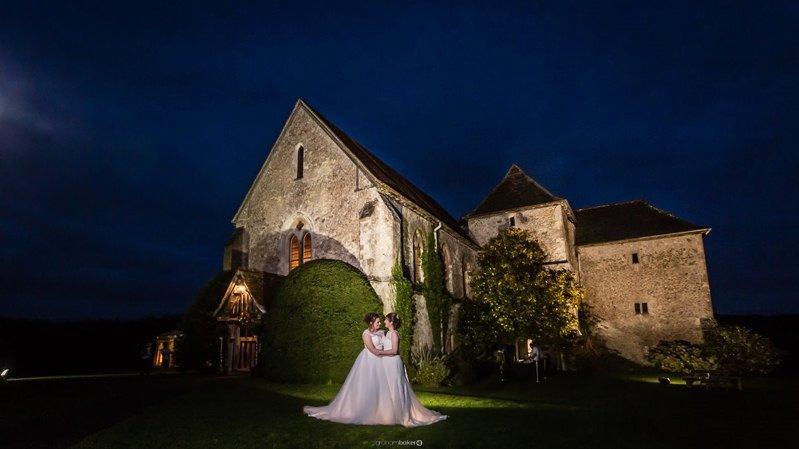 St Augustines Priory Wedding Bilsington Near Ashford Kent - LGBT Wedding Photography
