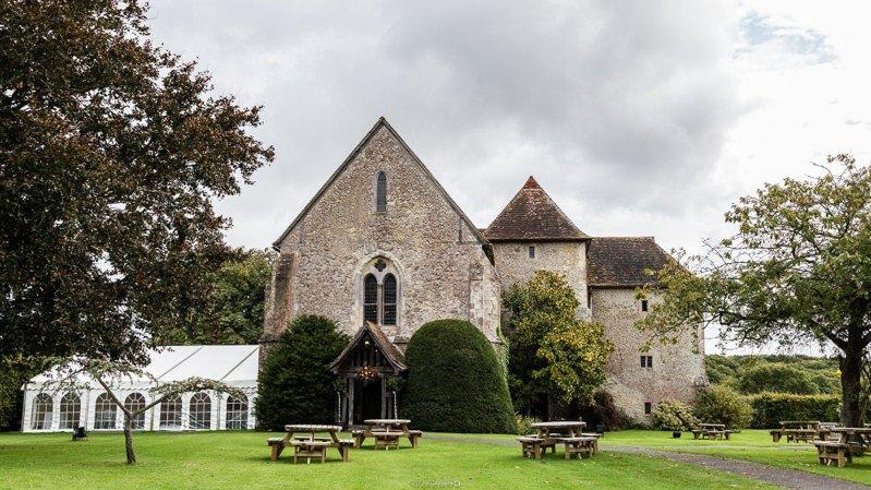 St Augustines Priory Bilsington Kent Wedding Venue - Photograph by Graham Baker Photography - Kent Wedding Photographer
