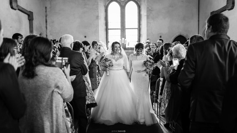 Here comes the Brides! - Getting Married in Kent - Graham Baker Photography