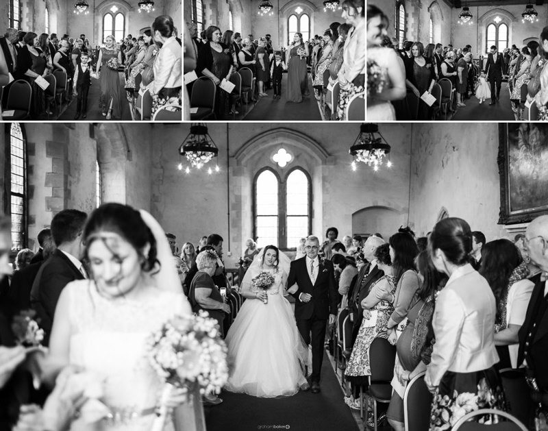 Wedding Ceremony at St Augustine's Priory - Exclusive Wedding Venue in Kent