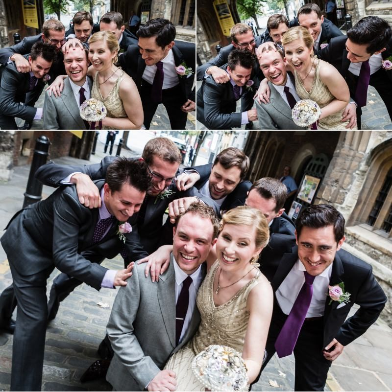Fun Wedding Group Shots!