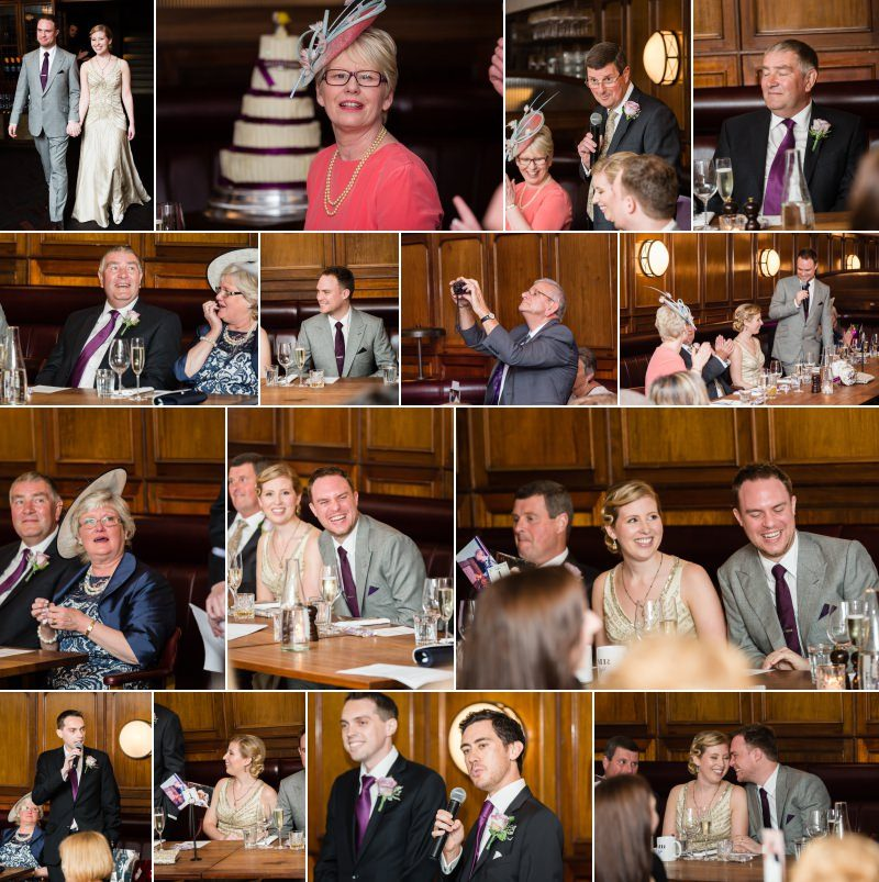 Wedding Reception at the Hawksmoor Guildhall London
