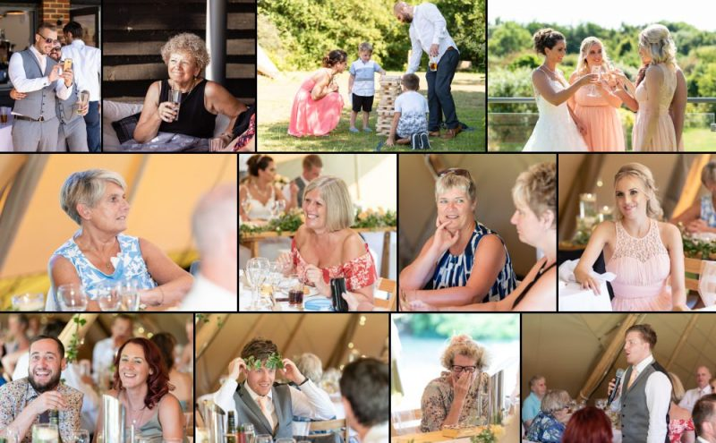 Wedding Reception at The Gardens Yalding in Kent