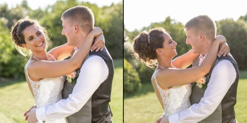 Couple Portraits at The Gardens Yalding in Kent