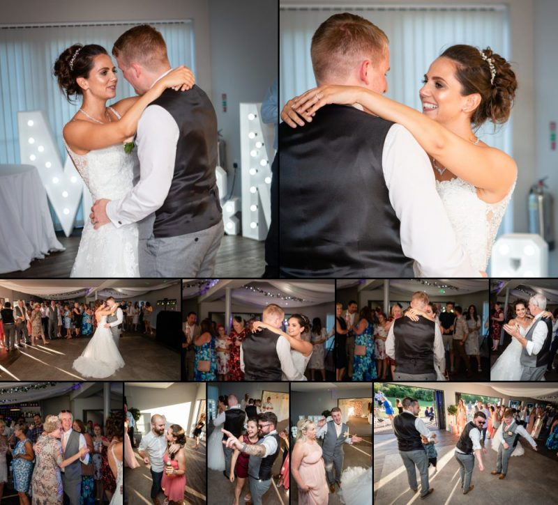 First Dance at The Gardens Yalding in Kent