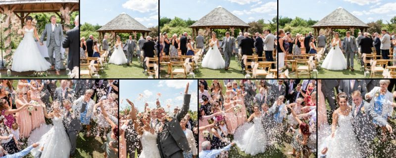 Getting Married Outside at The Gardens Yalding - Wedding Venue in Kent