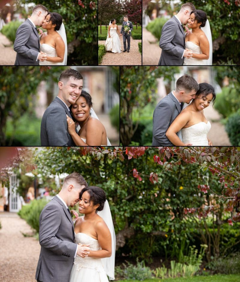 Bride and Groom Wedding Portrait by Graham Baker Photography