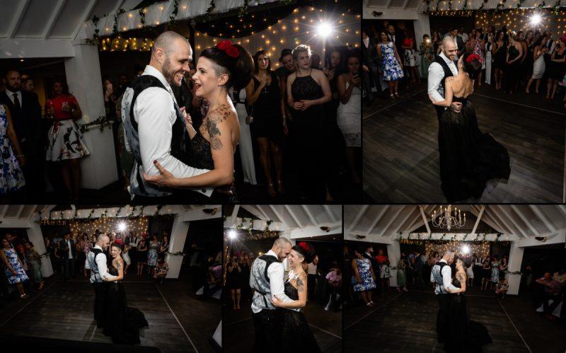 Wedding First Dance at Rowhill Grange