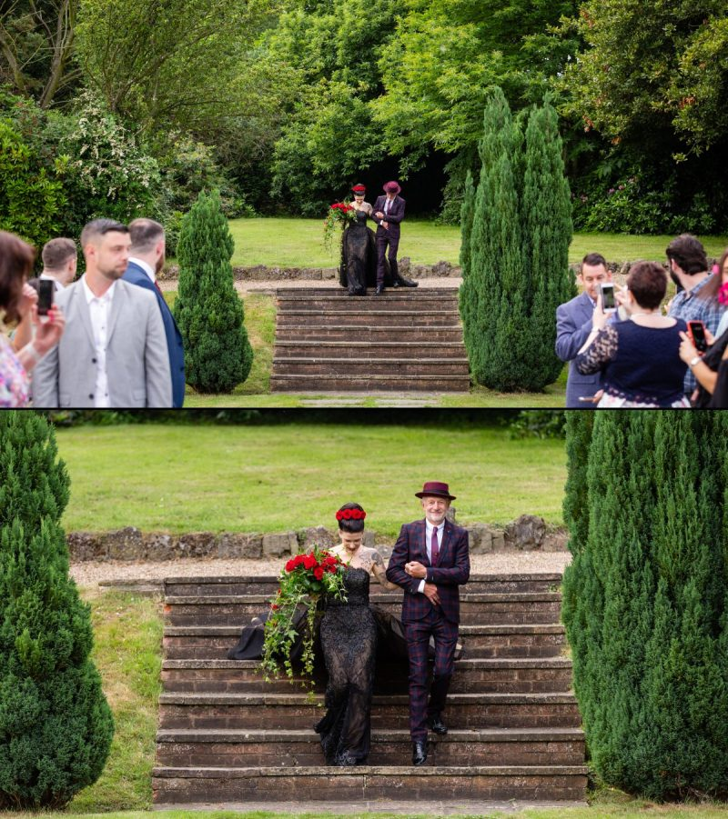 Getting Married Outdoors at Rowhill Grange Kent