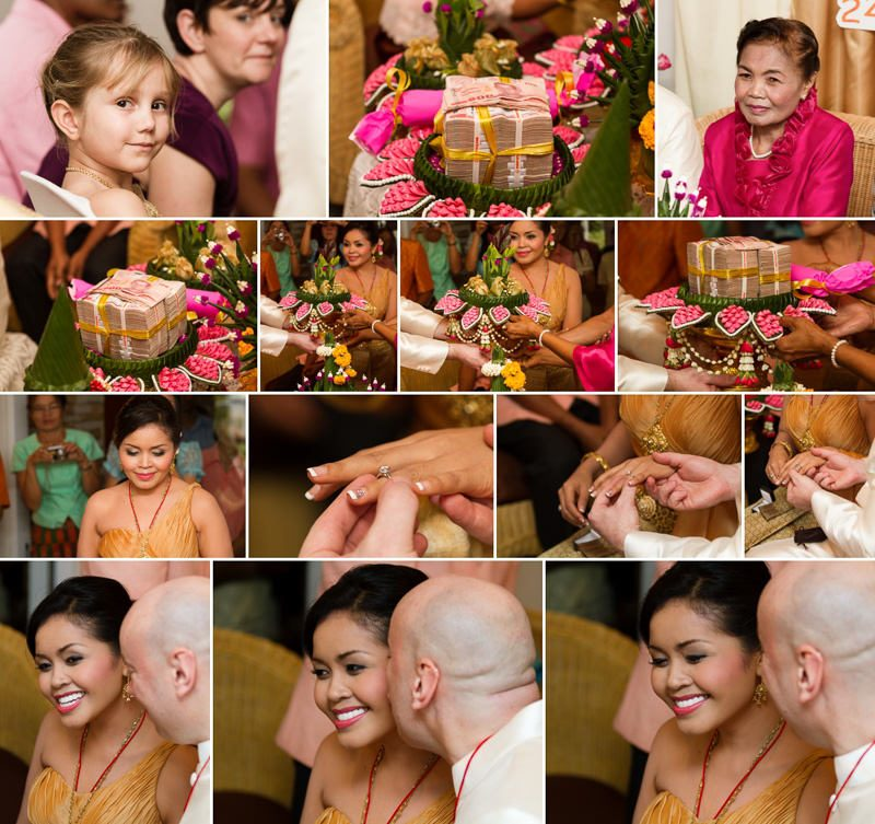 Traditional Thai Wedding Ceremony - Destination Wedding Photographer Graham Baker Photography