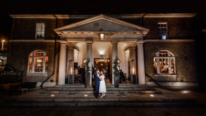 Wedding Reception at The Guardhouse Woolwich