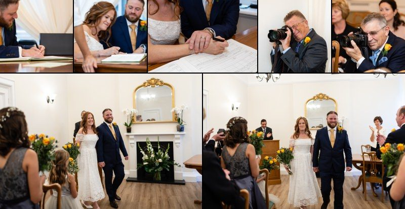 Getting Married at Woolwich Town Hall
