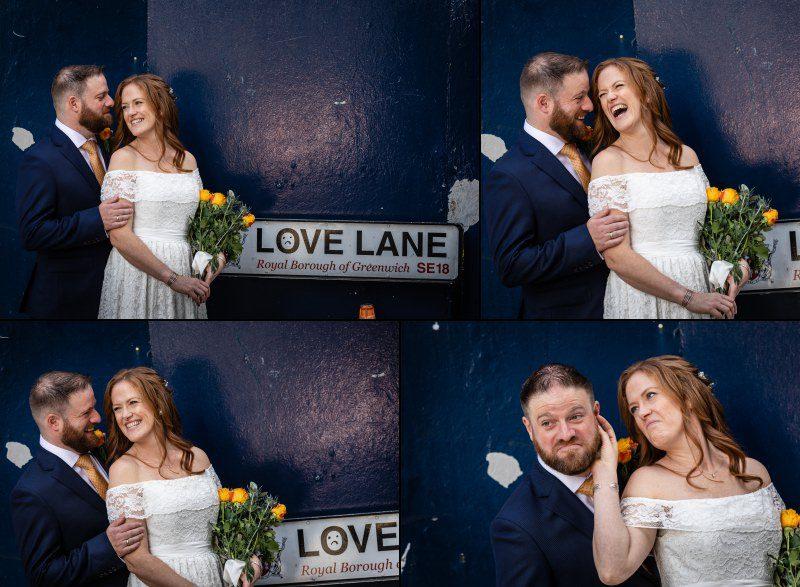 Love Lane Woolwich Wedding London