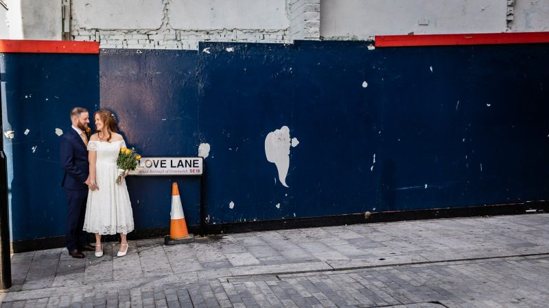 Wedding Love Lane Woolwich London