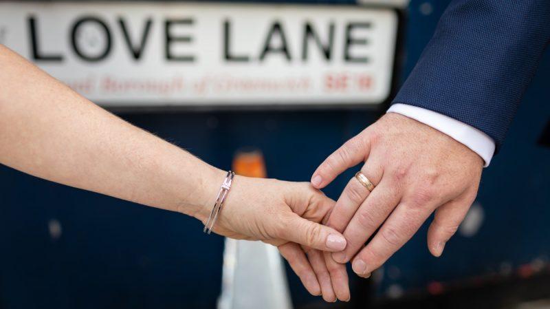 Wedding Love Lane Woolwich London