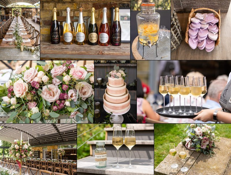 Wedding Details at The Mount Vineyard Shoreham