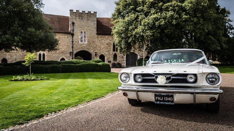 Wedding Car Hire from All American Wedding Cars