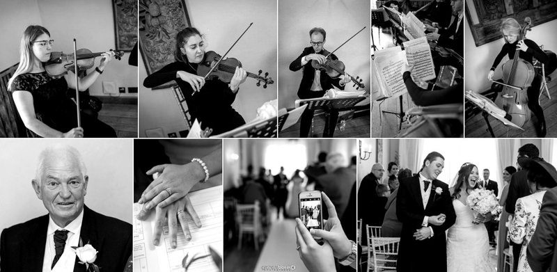 Getting Married at the Maidens Tower Leeds Castle Kent with Leon String Quartet