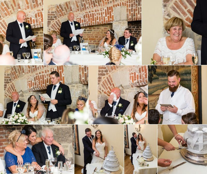 Kent Documentary Wedding Photographer at Maidens Tower