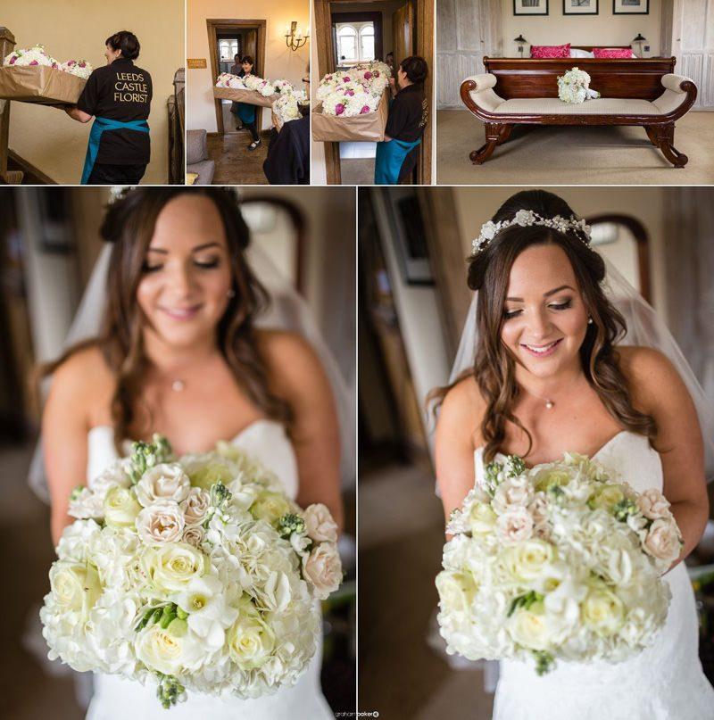 Leeds Castle Florist - Flowers for Maidens Tower Wedding