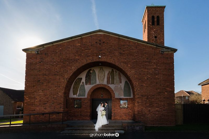 Wedding Photography at St Mary the Virgin Church Welling