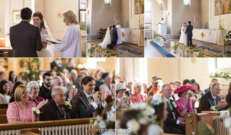 Welling Church Wedding Ceremony