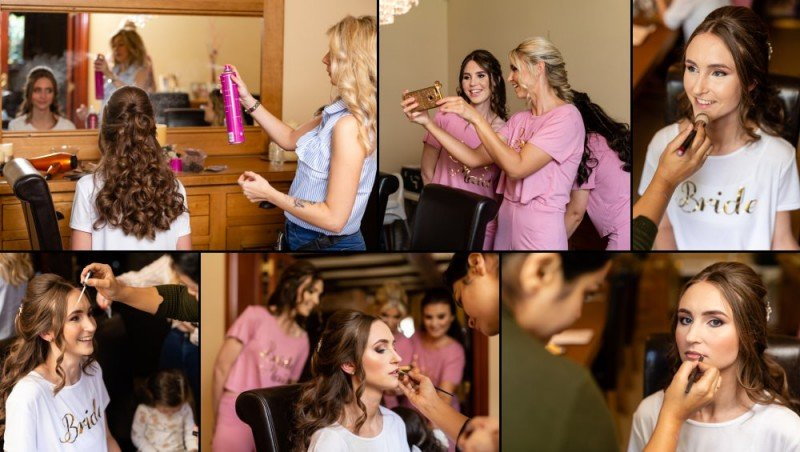 Kent Bride Getting Ready for her Wedding