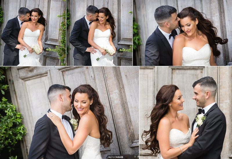 Bride and Groom Portraits and Winters Barns Kent - By Graham Baker Photography