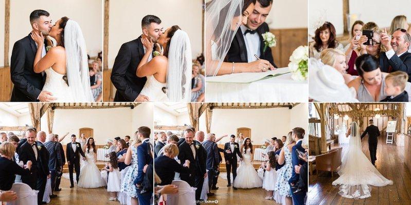Canterbury Wedding Ceremony - Photographs by Graham Baker Photography