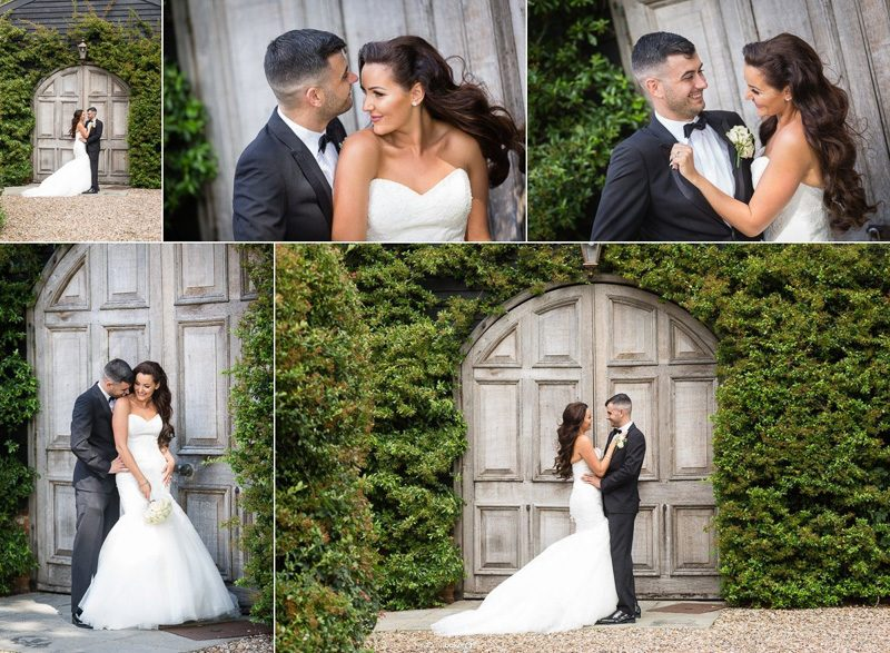 Bride and Groom Wedding Portrait Photography at Winters Barns Kent - By Graham Baker Photography