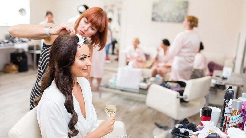 Vicki Lord - hair designer and multi-award winning bridal hairdresser based in London and the South East