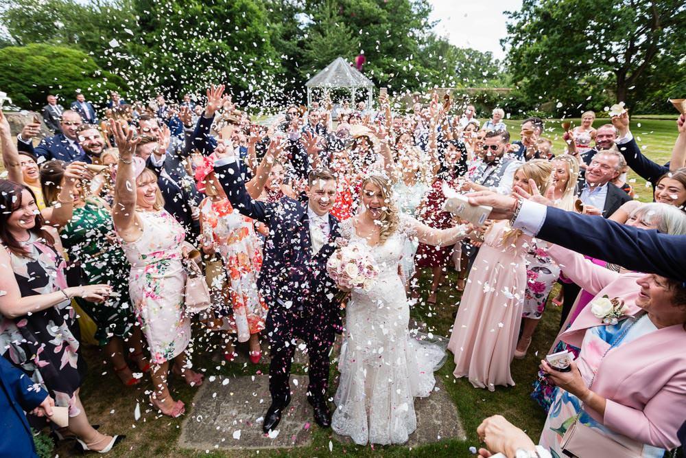 Rowhill Grange Hotel & Spa Wedding Venue | Confetti Shot!