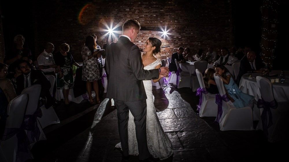 First Dance Cooling Castle Barn
