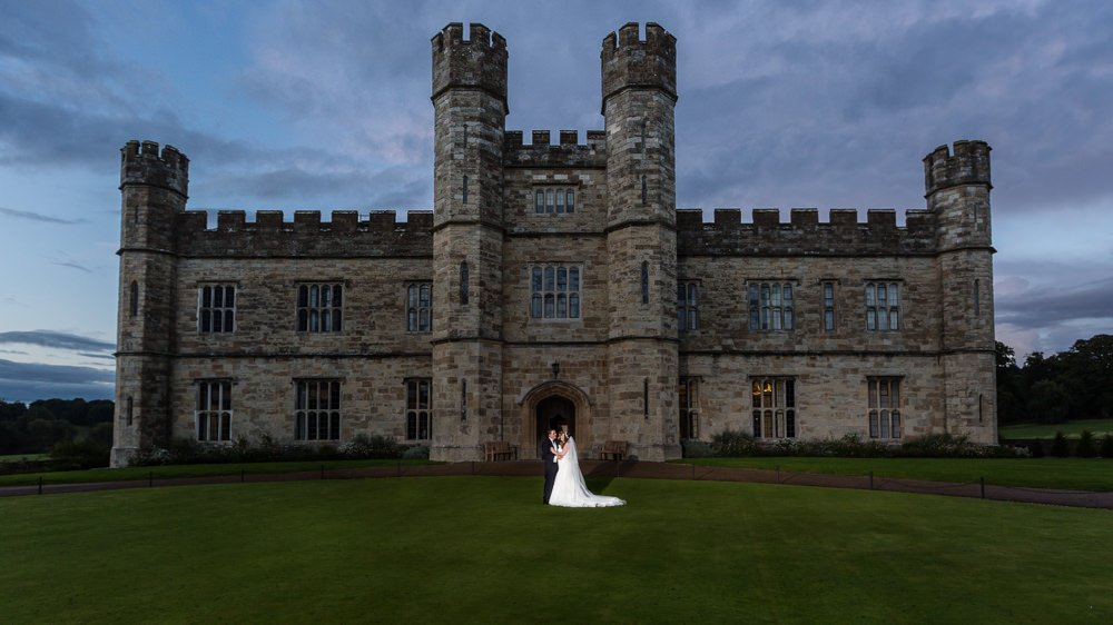 Leeds Castle Wedding Maidstone Kent
