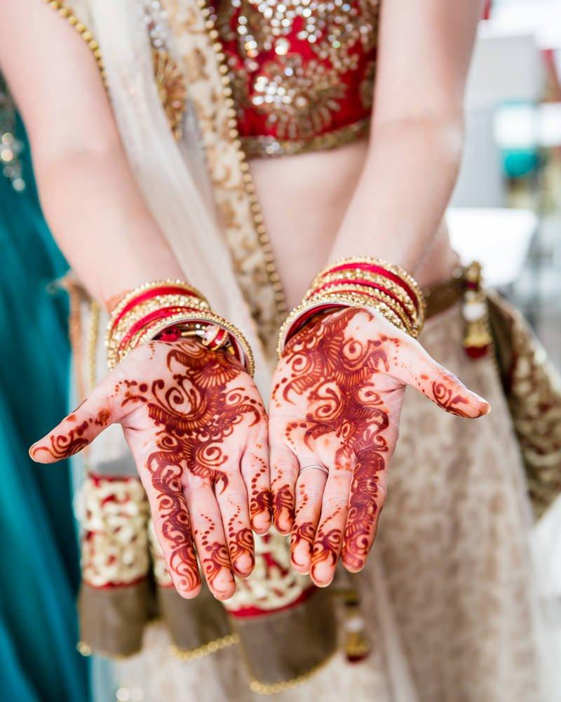 Mehndi Ceremony Indian Wedding London