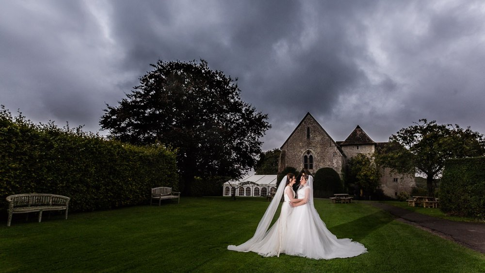 St. Augustine's Bilsington Priory Wedding Venue Ashford Kent