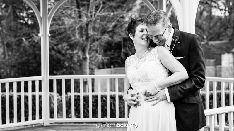 Bride and Groom Portraits on valentine's day 2016 at Rowhill Grange