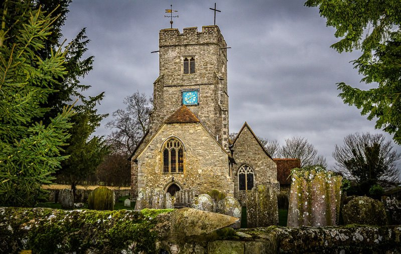 Boxley Church and Tudor Park Marriott Maidstone Kent