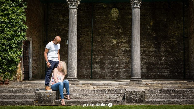 Broome Park Engagement Photography Session