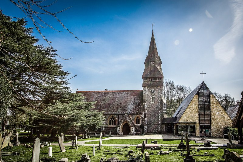 Getting Married at Christ Church Chorleywood Hertfordshire