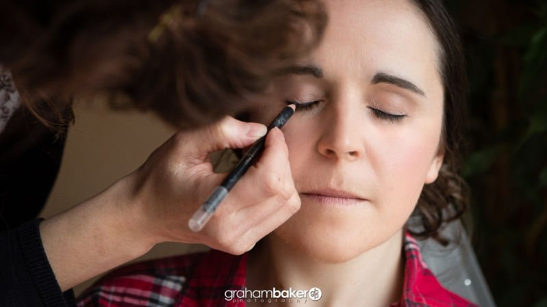 South East London Wedding Photography - Bridal makeup
