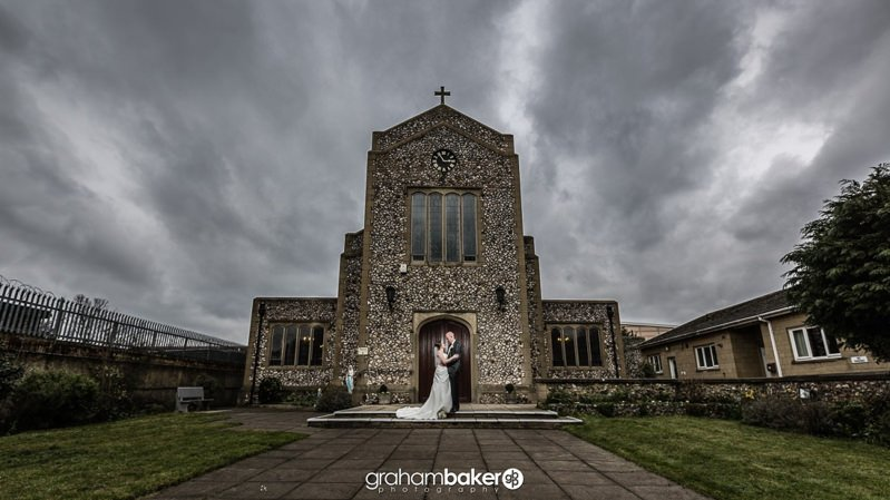 South East London Church Wedding at St John Vianney Bexleyheath