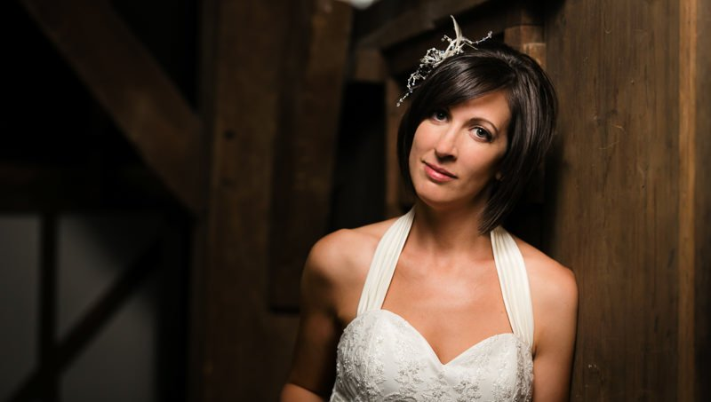 Kent Bride Portraits at Cooling Castle Barn Rochester Kent
