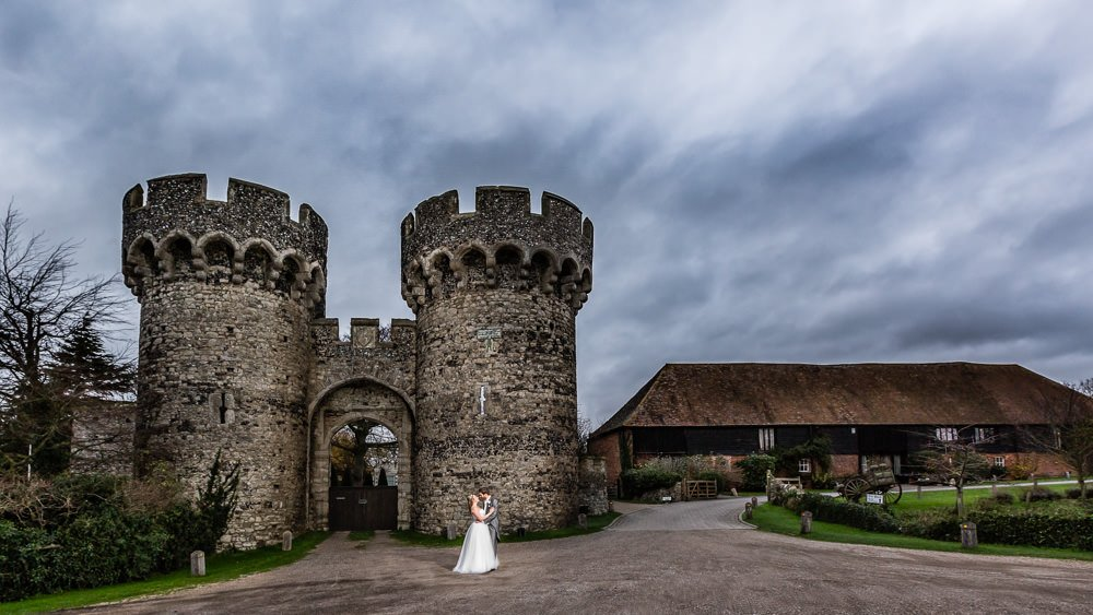 Christmas Cooling Castle Barn Wedding