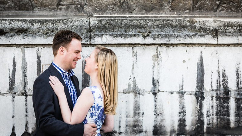 Couples Engagement Photography Session at the Guildhall London
