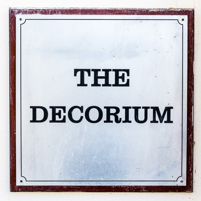 Details at the Decorium Wood Green London