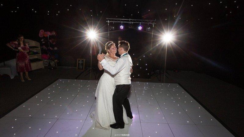 Ferry House Inn Wedding First Dance - Photographs By Graham Baker Photography
